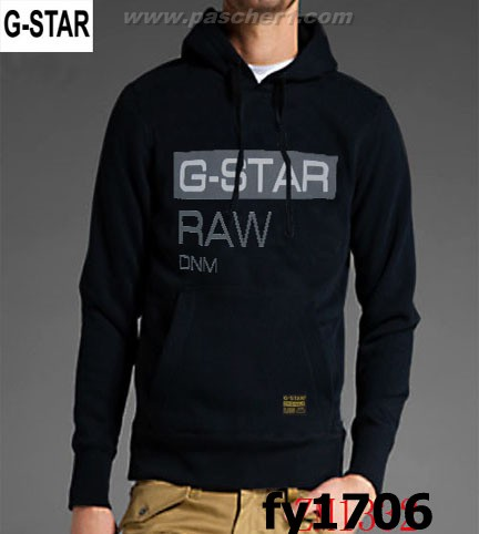 sweat g star face hooded noir capuche,sweat g star taille M