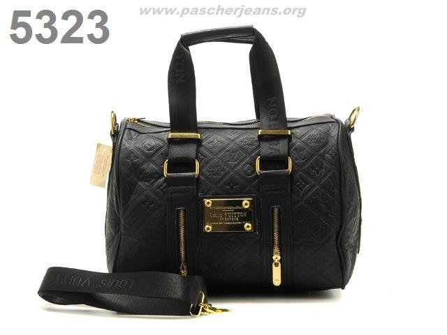 Sac Louis Vuitton Noir Brillant