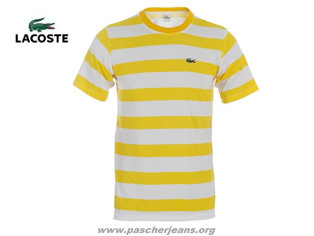 Polo Jaune Custom Fit Aus Fluo polo lacoste Usa Lacoste 8wvmn0N
