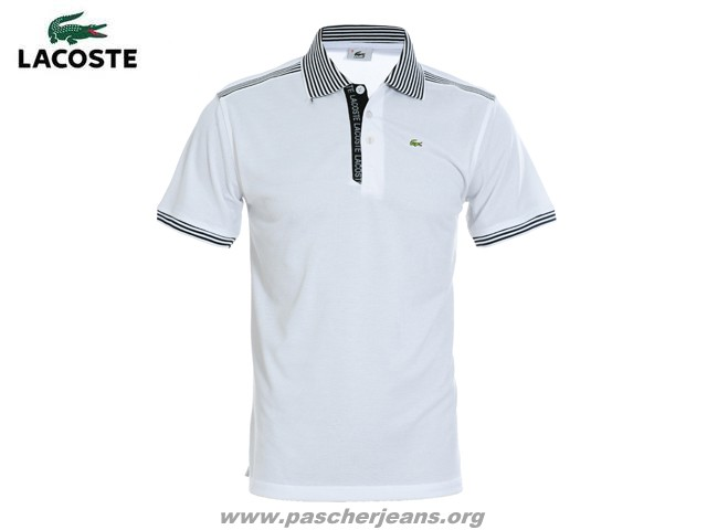 Lacoste En Stretch Polo Fit Solde polo Slim Petit Pique WDEH29I