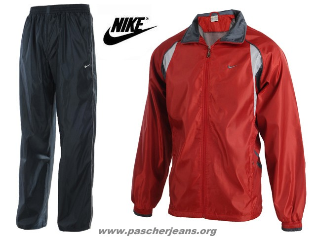ensemble jogging homme nike rouge