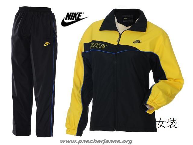 jogging femme nike jaune