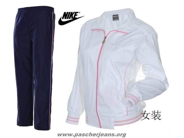 nike jogging velours femme