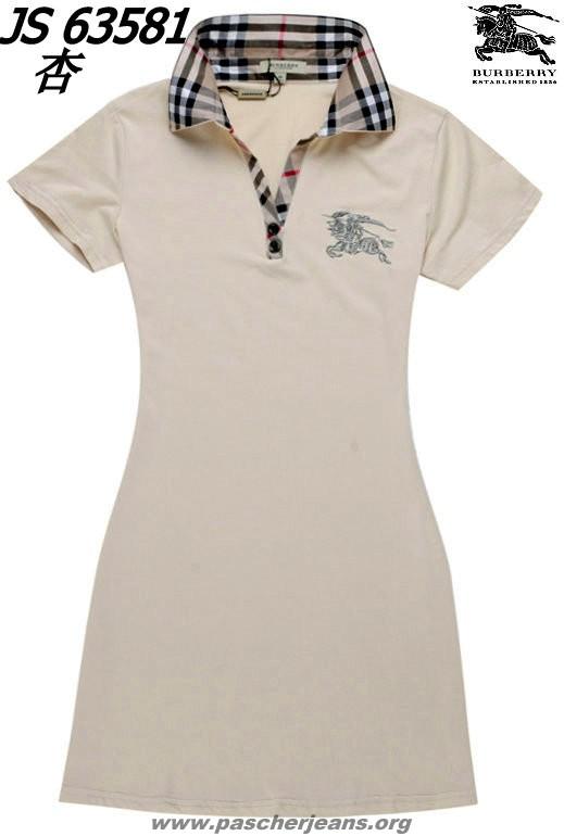 Robe polo femme solde
