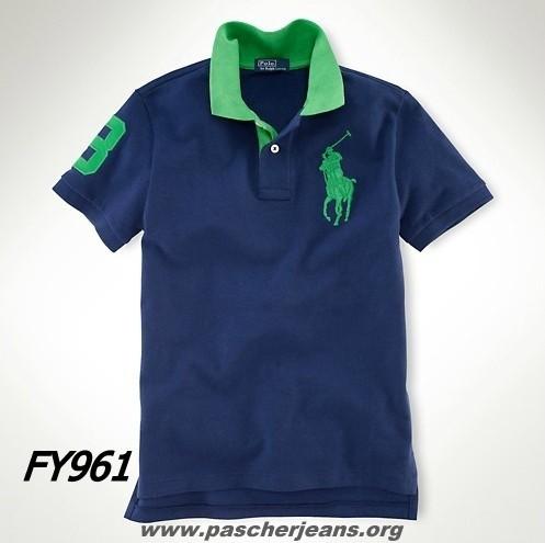 Ralph France polo Big Faux Polo Lauren Pony jc5Lq43AR