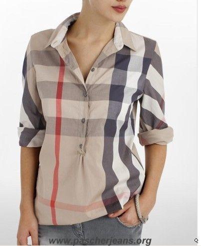 chemise burberry femme achat en ligne chemise burberry femme pas cher. Black Bedroom Furniture Sets. Home Design Ideas