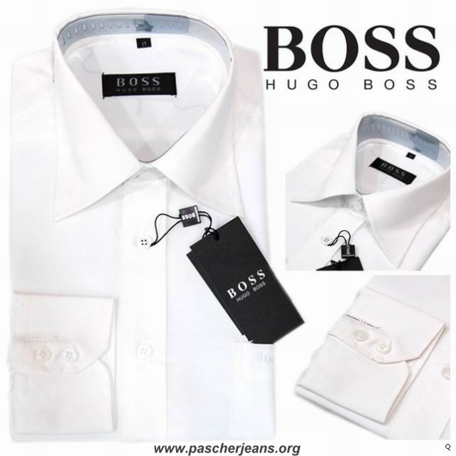 chemise blanche homme hugo boss chemise hugo boss homme. Black Bedroom Furniture Sets. Home Design Ideas