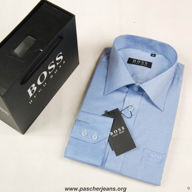 chemise hugo boss selection chemise hugo boss homme. Black Bedroom Furniture Sets. Home Design Ideas