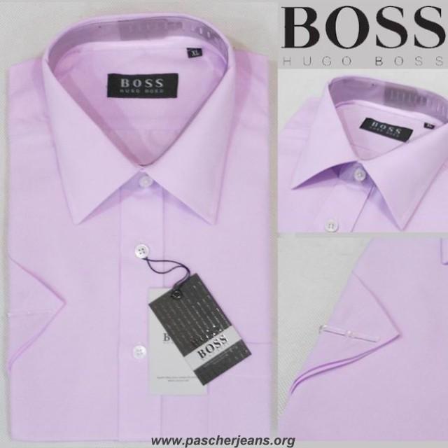 1fa0240cb30 chemise col casse boss