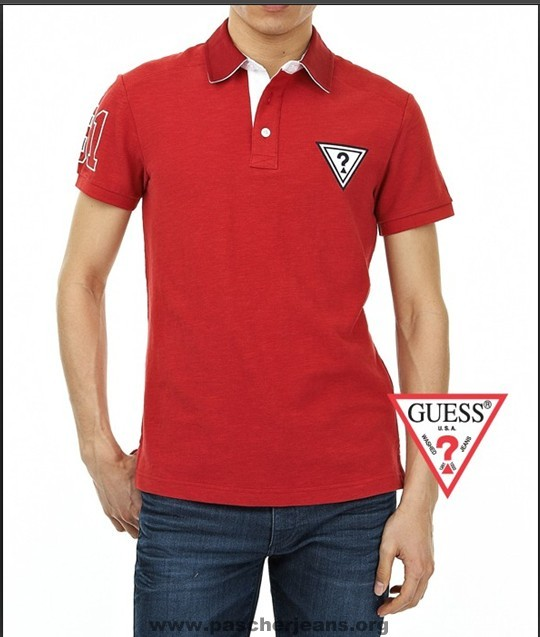 Polo Cher Pas Guess Homme Polo Guess 80mnNw