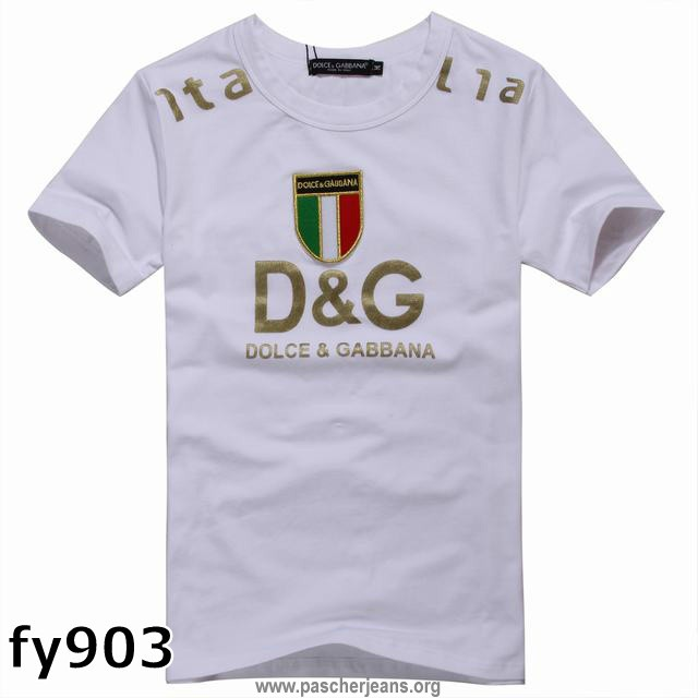 0fdc446acd491 t shirt dolce gabbana homme