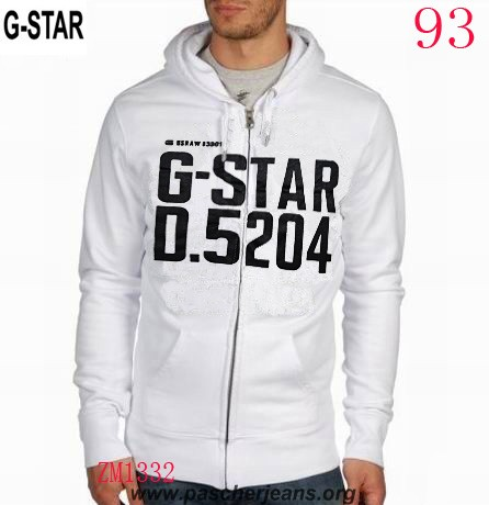Veste sweat g star homme
